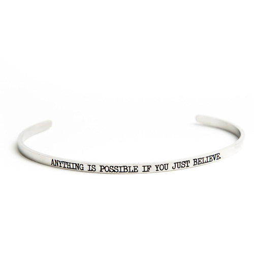 Anything Is Possible Bangle - Adventurista Boutique