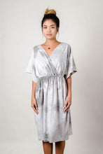 Athena Dress in Grey Natural Dye - Adventurista Boutique