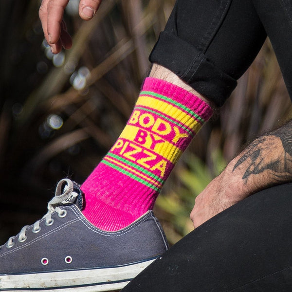 Body by Pizza Socks - Adventurista Boutique