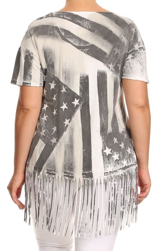 American Flag Shirt - Adventurista Boutique