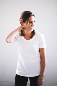 Favorite Tee - Crew Neck White - Adventurista Boutique