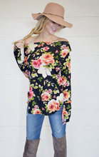 Floral Off the Shoulder tunic - Adventurista Boutique