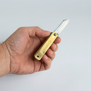 Higonokami Superior Brass
