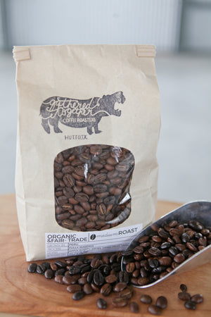 LOCAL PICK UP: Organic Fair Trade Fresh Roasted coffee
