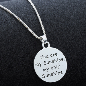You Are My Sunshine | Inspiration Necklace