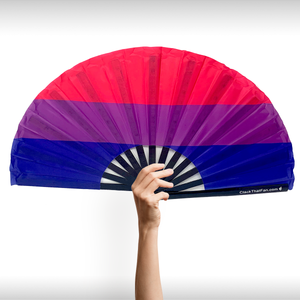 Bi Pride Flag Clack Fan™