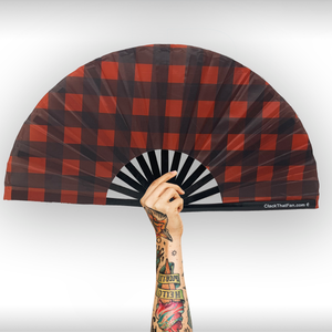 Buffalo Plaid Clack Fan™