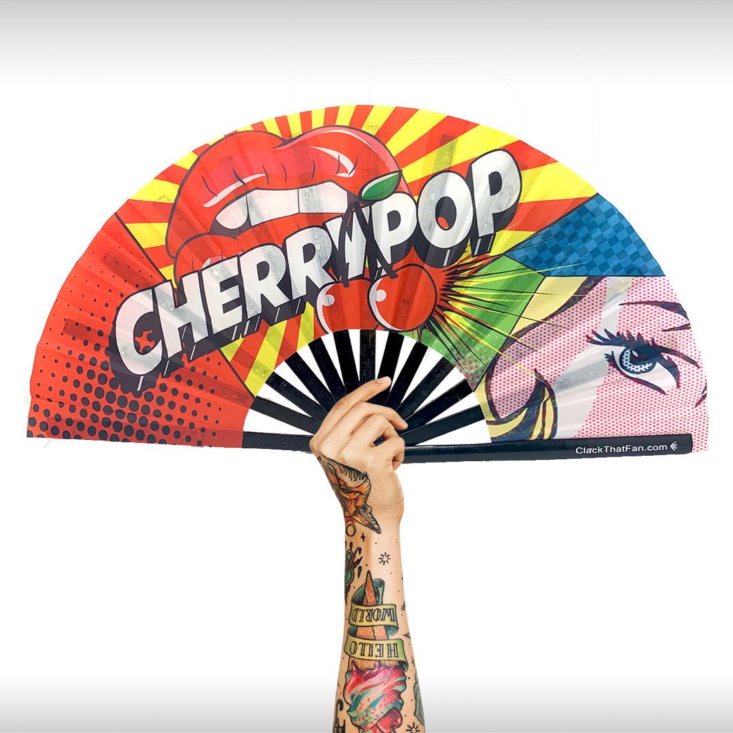 Cherry Pop Clack Fan™