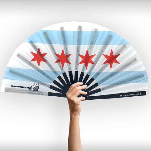 Chicago Flag Clack Fan™