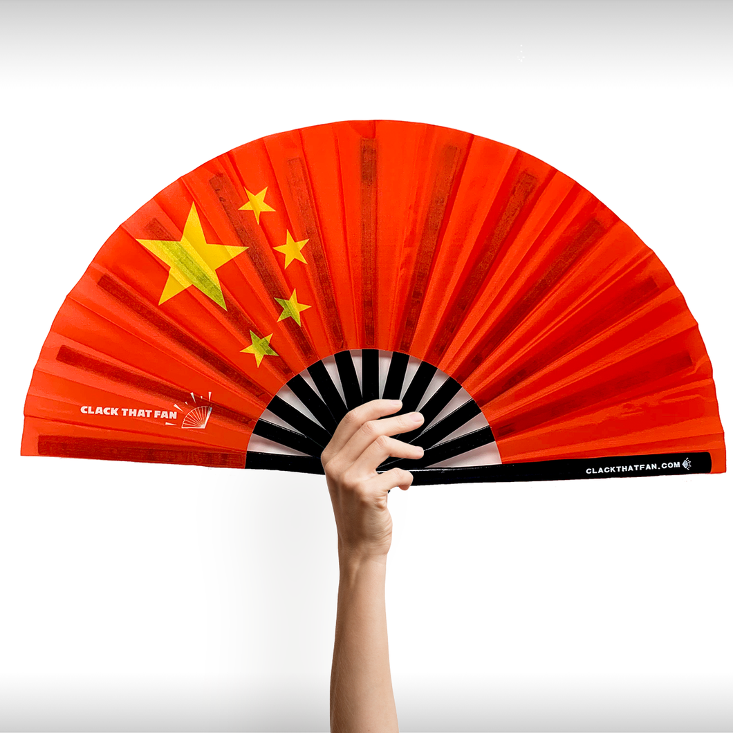 China Flag Clack Fan™