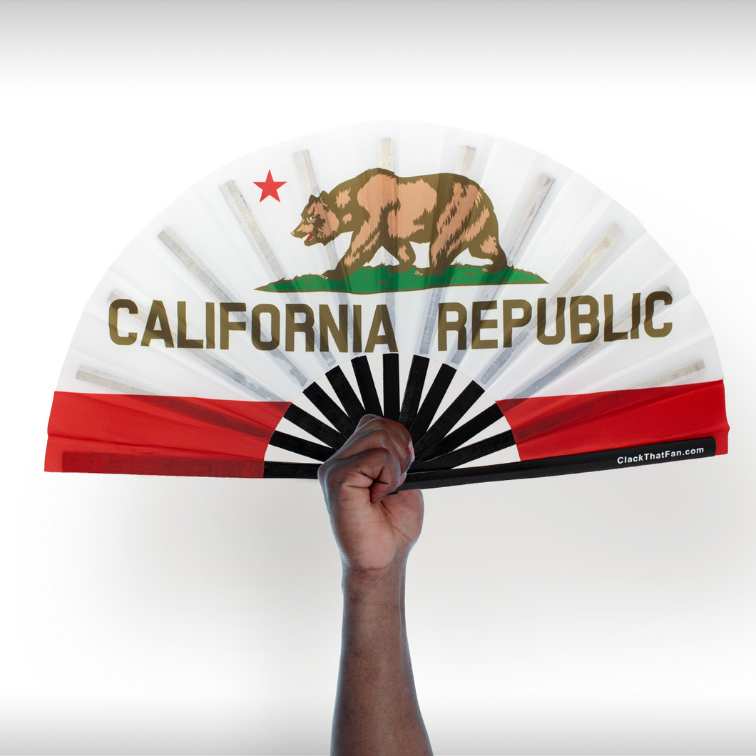 California State Flag Fan