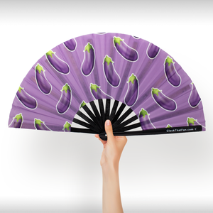 UV Eggplant Clack Fan™