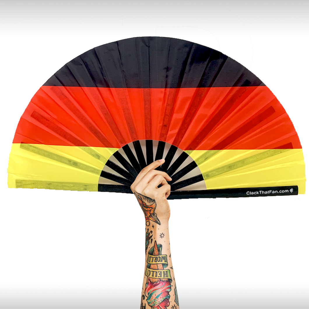 German Flag Clack Fan™