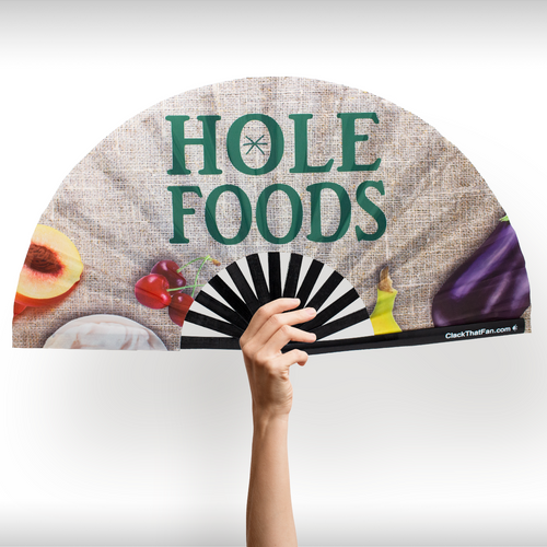 Hole Foods Clack Fan™