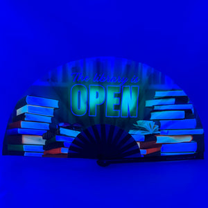 UV The Library Is Open Clack Fan™