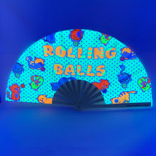 UV Rolling Balls Clack Fan™