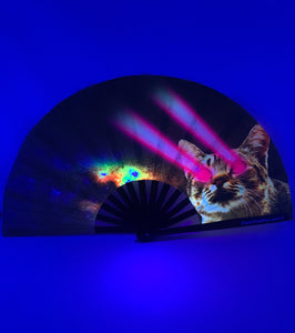 UV Grey Laser Cat Clack Fan™