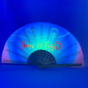 UV Love & Light Clack Fan™