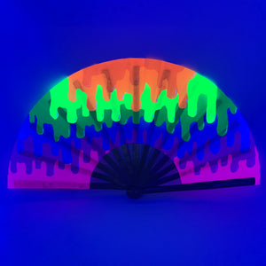 UV Color Drip Clack Fan™