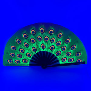 UV Peacock Clack Fan™