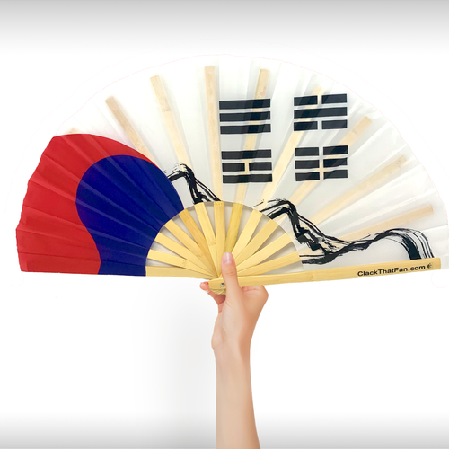 Korea Flag Clack Fan™