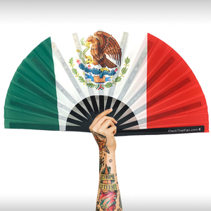 Mexican Flag Clack Fan™