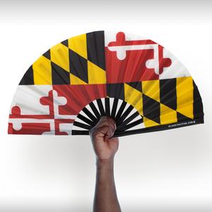 Maryland Flag Clack Fan™