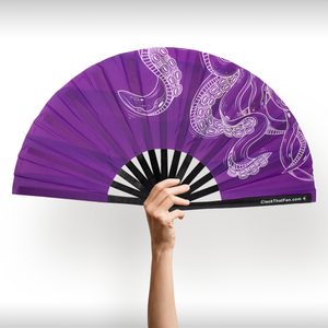 Purple Octopus Clack Fan™
