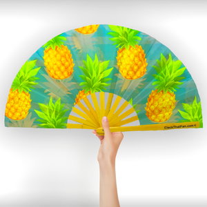 UV Pineapple Clack Fan™