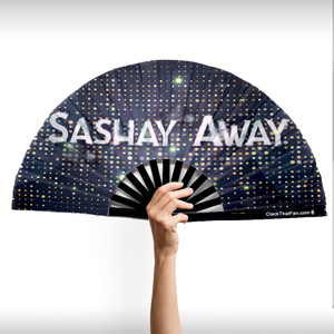 NEW Stay/Sashay Double Sided Clack Fan™