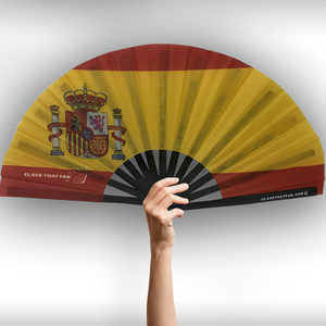 Spain Flag Clack Fan™