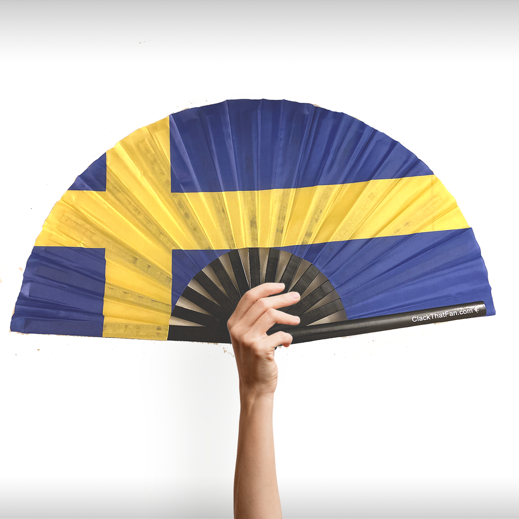 Swedish Flag Clack Fan™