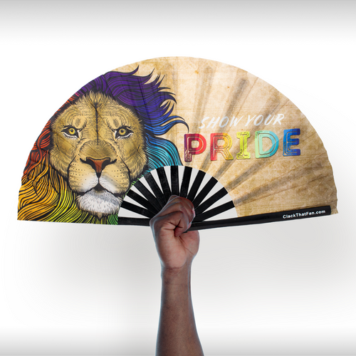 Pride Lion Clack Fan™