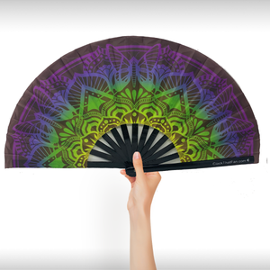 UV Butterfly Mandala Clack Fan™