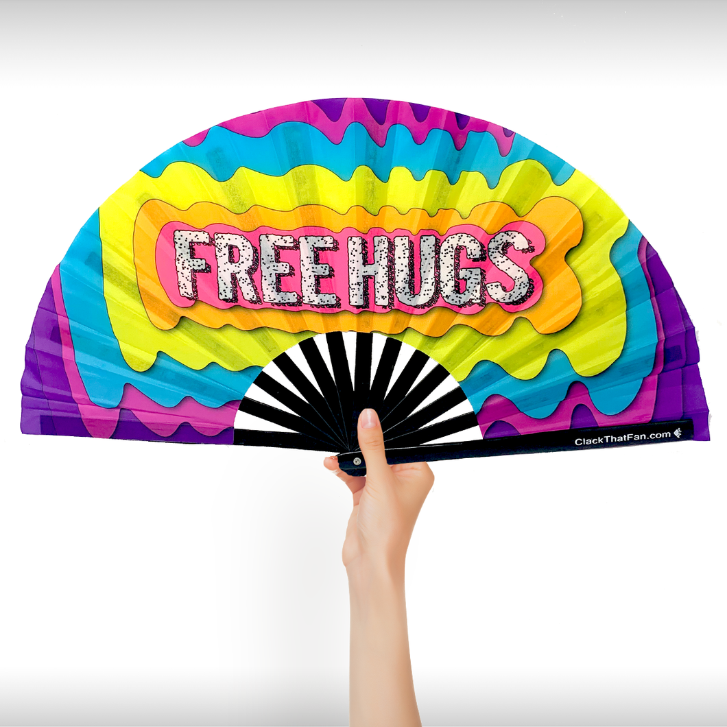 UV Free Hugs Clack Fan™
