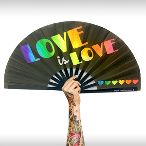 UV Love Is Love Clack Fan™