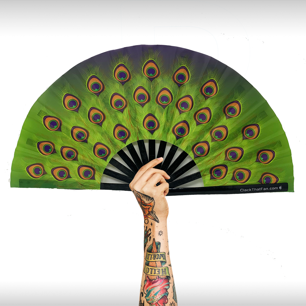 Peacock Clack Fan™