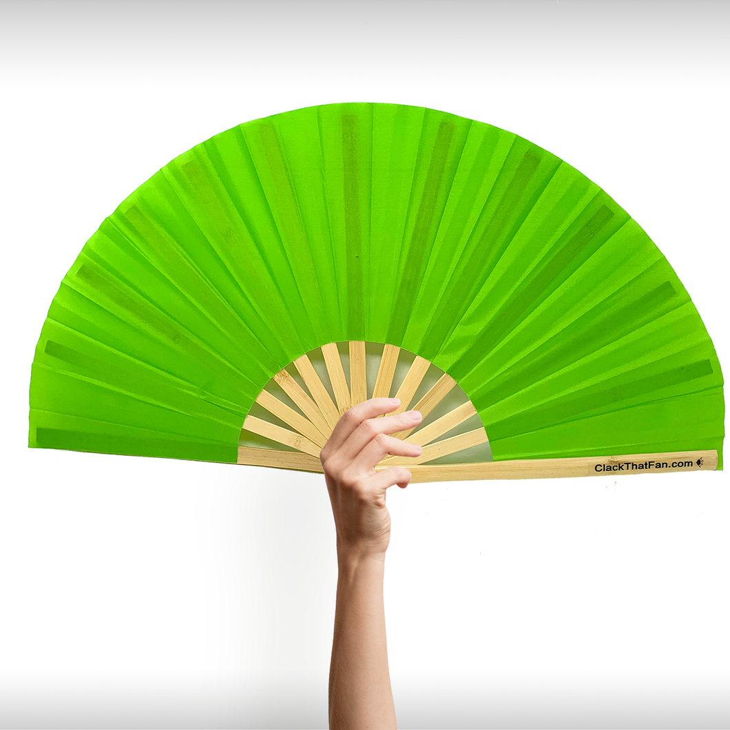 UV Electric Lime Fan