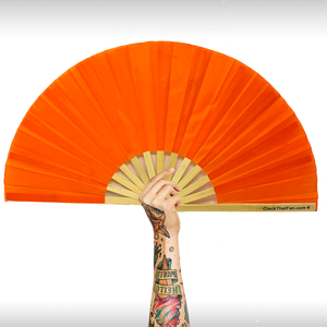 UV Electric Orange Fan