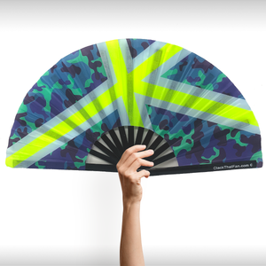 UV Sporty Camo Clack Fan™