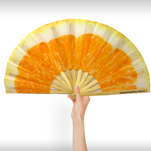 Orange Slice Clack Fan™