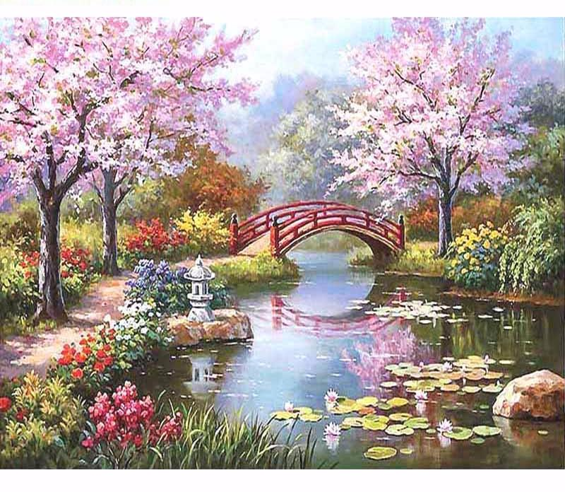Romantic Fairyland VanGo™ Paint-By-Number Kit