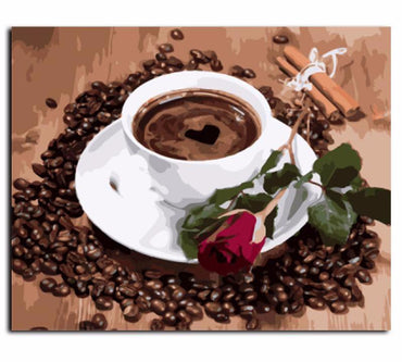 Coffee Love VanGo™ Paint-By-Number Kit