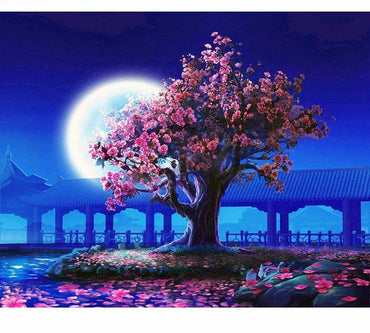 Romantic Moon Light VanGo™ Paint-By-Number Kit