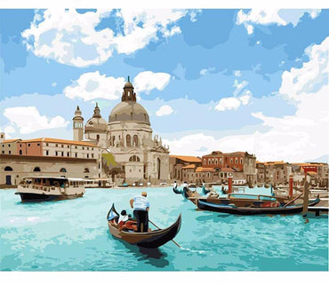 Venice Seascape VanGo™ Paint-By-Number Kit