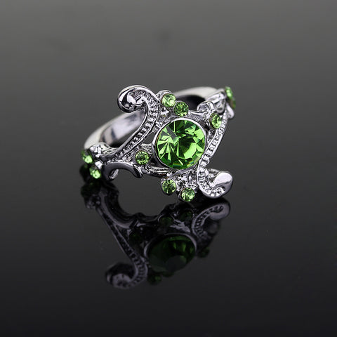 Slytherin Crystal Ring