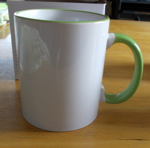 Have your photo printed on a colour handle mug from Quaotic