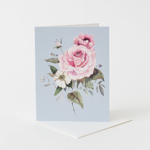 Rose Bunch Card
