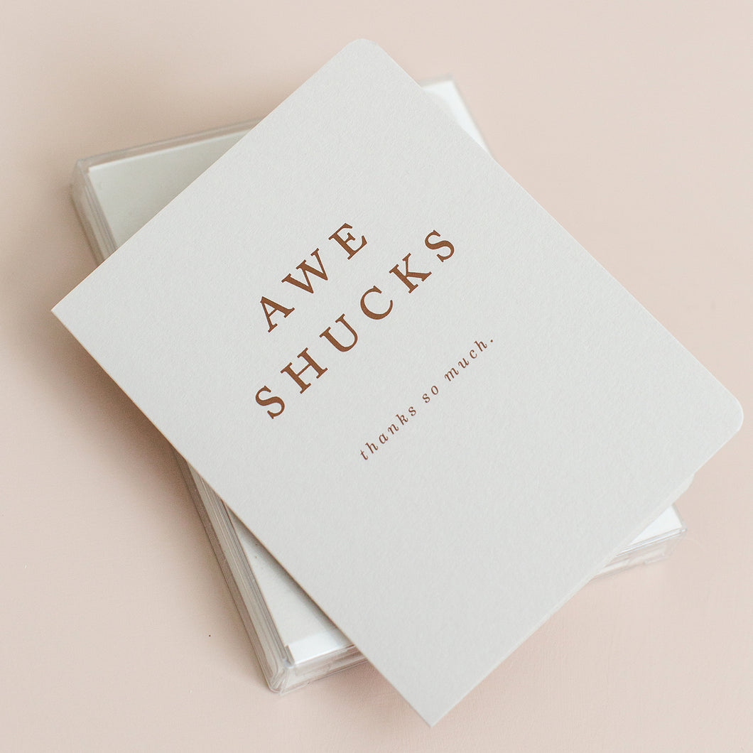 Awe Shucks - Box Set