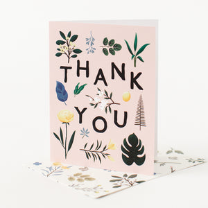 Thank You - Pink Floral